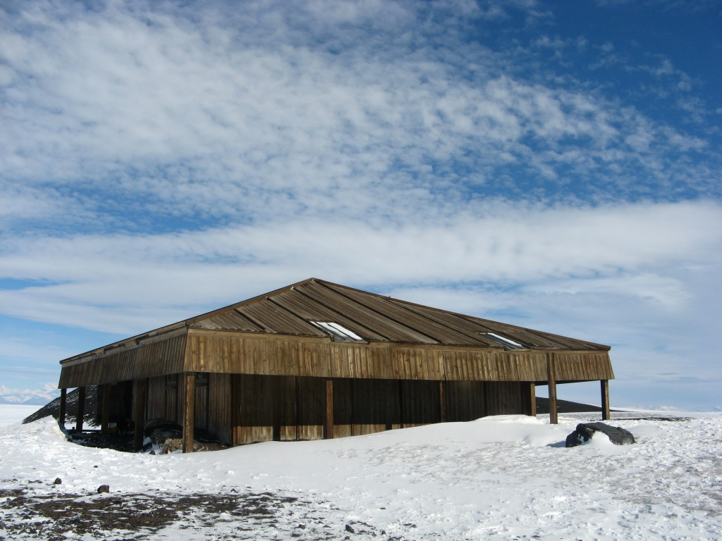 Discovery Hut, Hut Point