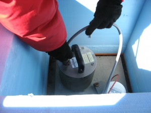 Changing a seismometer
