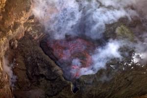 Erebus lava lake, 2011-2012 field season