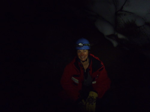 Drea in Warren Cave