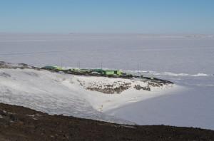 Scott Base from the McMurdo - Scott Base road