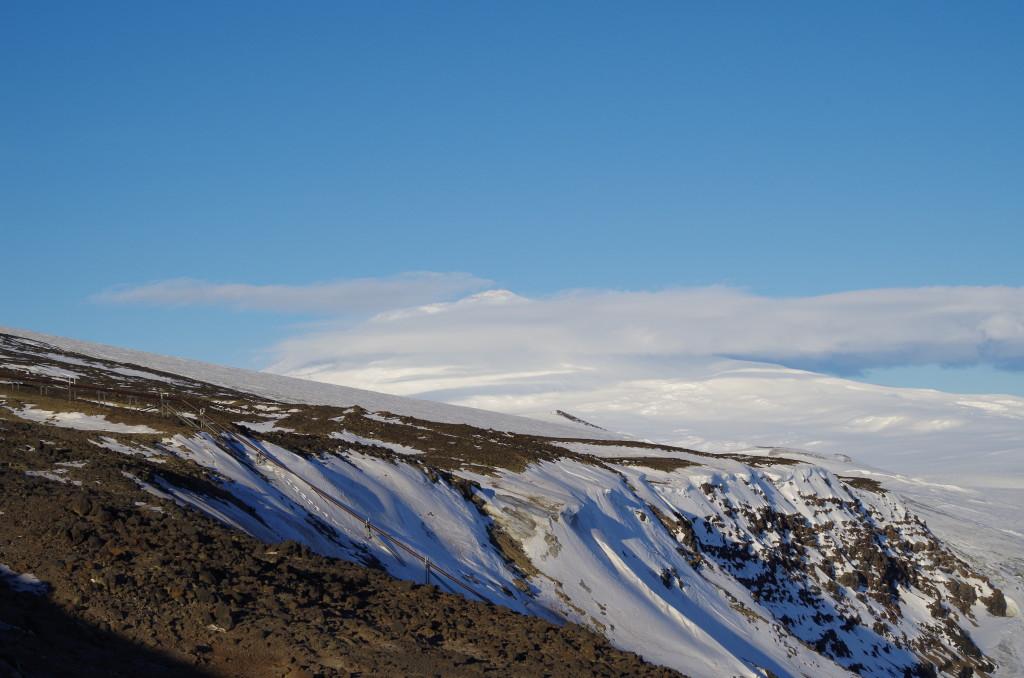 Erebus from Scott Base road